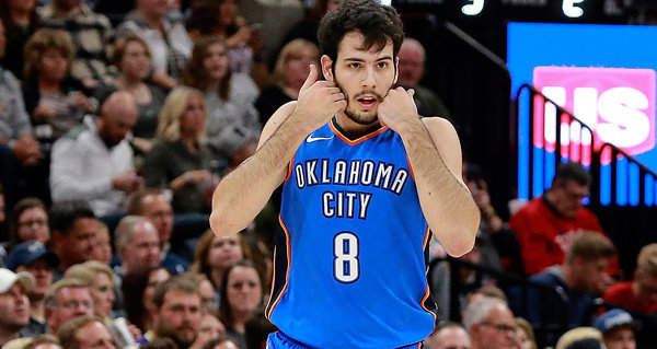 Thunder Waives Alex Abrines class=