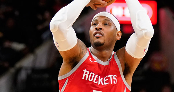 f7a69cc6b5b The Houston Rockets have announced they have parted ways with Carmelo  Anthony.