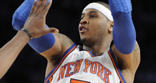 Carmelo Has Worst Playoff Winning Percentage In NBA History - RealGM Wiretap