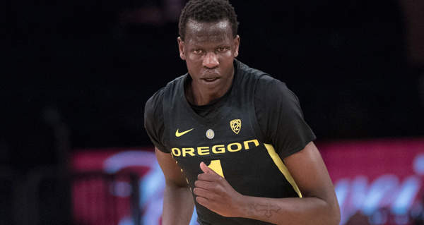 Oregon's Bol Bol officially enters draft after hiring agent