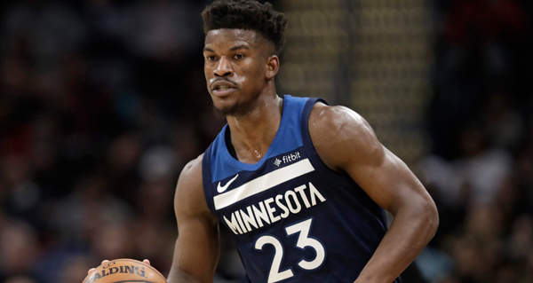 Rockets making a 'strong effort' to land Jimmy Butler via trade