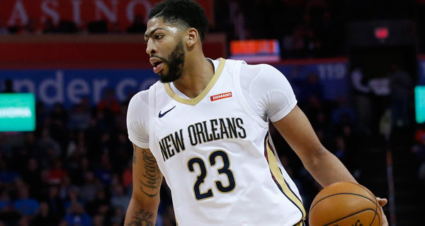 Anthony Davis posts triple-double with 10 blocks vs. Jazz