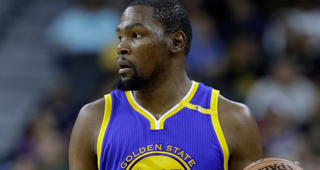 Kevin Durant: Blowout Loss To Spurs 'Woke Us Up A Bit'