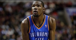 Kevin Durant Sprains Ankle, X-Rays Negative