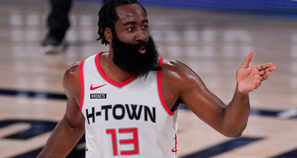James Harden Out With Ankle Sprain, Not Related To Trade ...