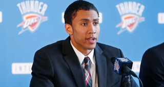 Josh Huestis Signs Four-Year Rookie Deal With Thunder