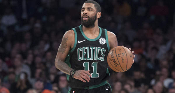 4207a7b05ba9 Danny Ainge dismissed the suggestion the Boston Celtics may be better  without Kyrie Irving.