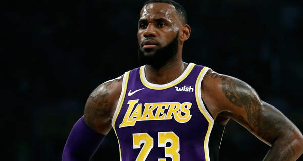 7dae5147c96 LeBron James will miss the playoffs for the first time since 2005 following  the Los Angeles Lakers  111-106 loss to the Brooklyn Nets.