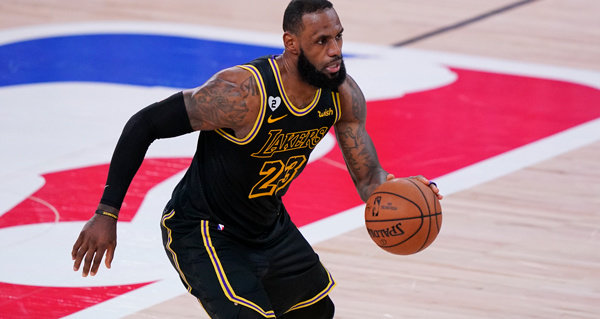 LeBron James reveals lesson learned about Lakers fans