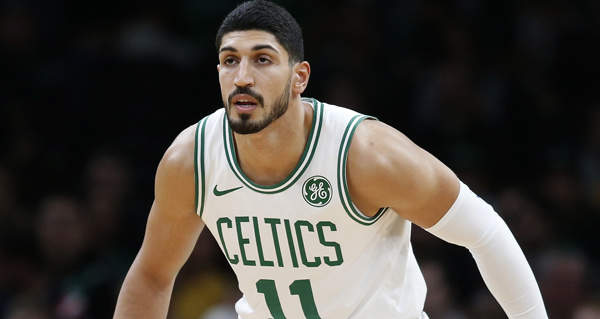 Celtics trade Enes Kanter to Trail Blazers in three-team deal