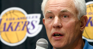 Kupchak: Lakers Probably Done Dealing Kupchak_Mitch_lal_111214