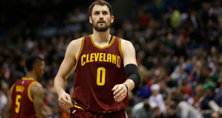 Kevin Love Ahead Of Schedule, Could Play In Opener