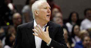 Popovich Named NBA Coach Of The Year