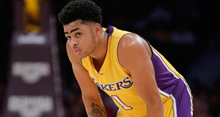 D'Angelo Russell To Work Out With Magic Johnson In Summer