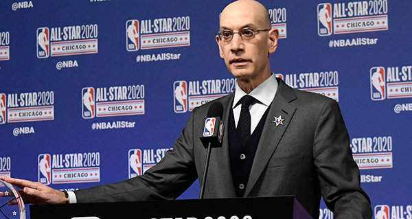 Silver: NBA could play exhibition game during hiatus