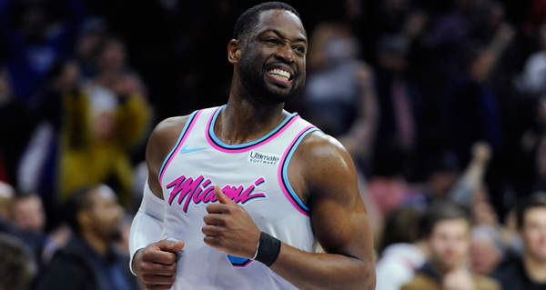 Dwyane Wade's future up in air after playoff revival