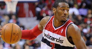 John Wall 'Rankled' By James Harden's Extension